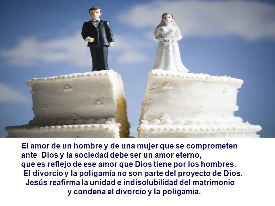 El amor de un hombre y de una mujer que se comprometen