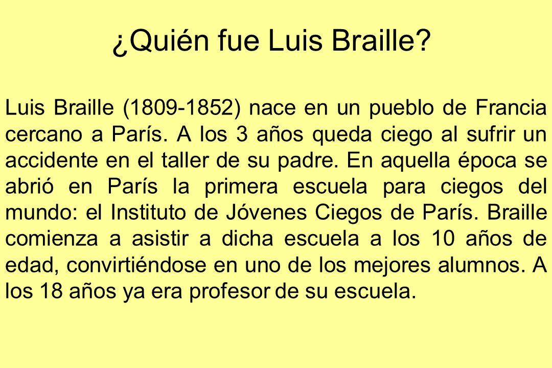 ¿Quién fue Luis Braille