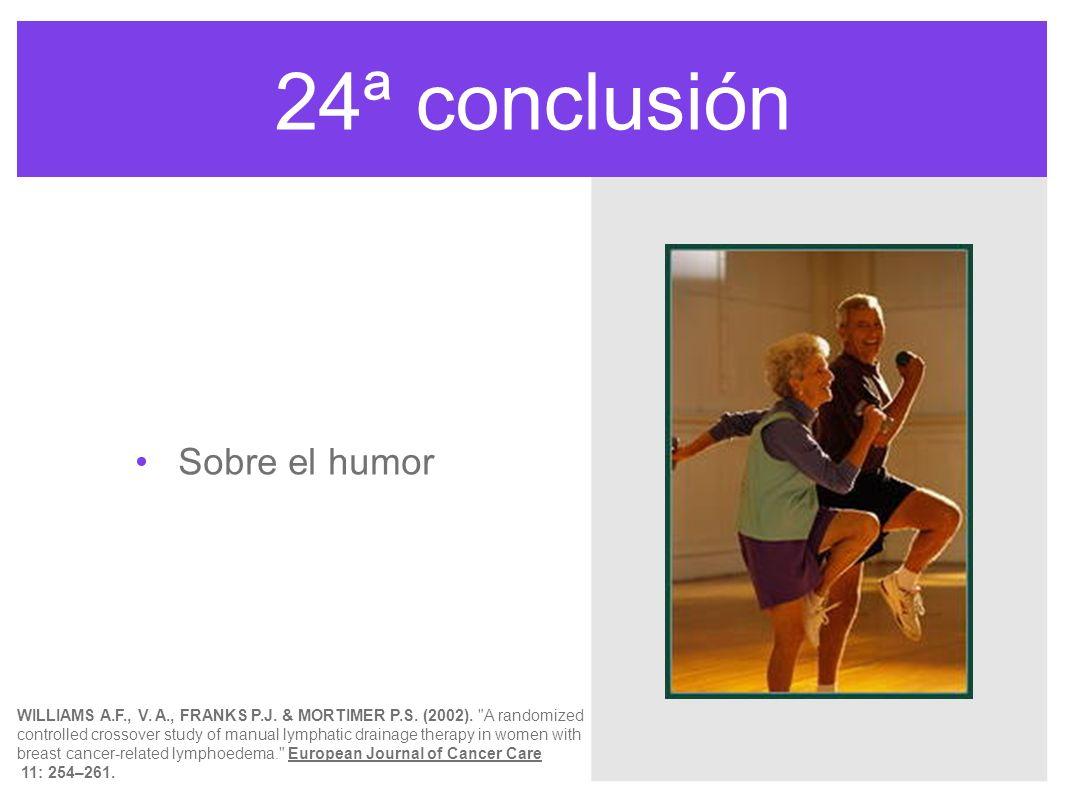 24ª conclusión Sobre el humor