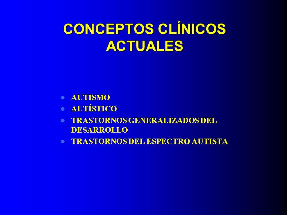 CONCEPTOS CLÍNICOS ACTUALES