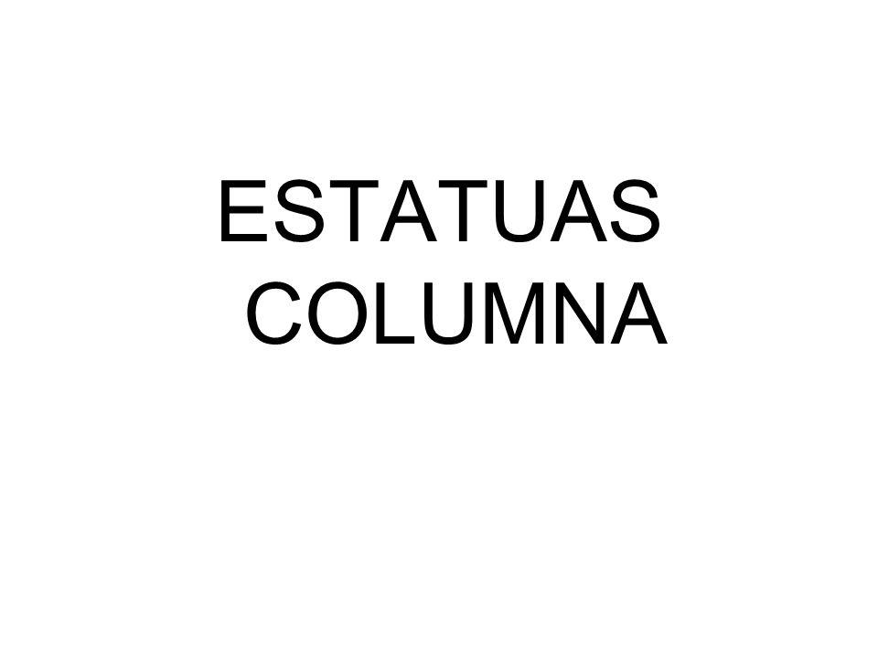 ESTATUAS COLUMNA