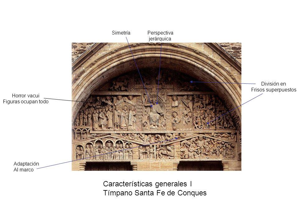 Características generales I Tímpano Santa Fe de Conques