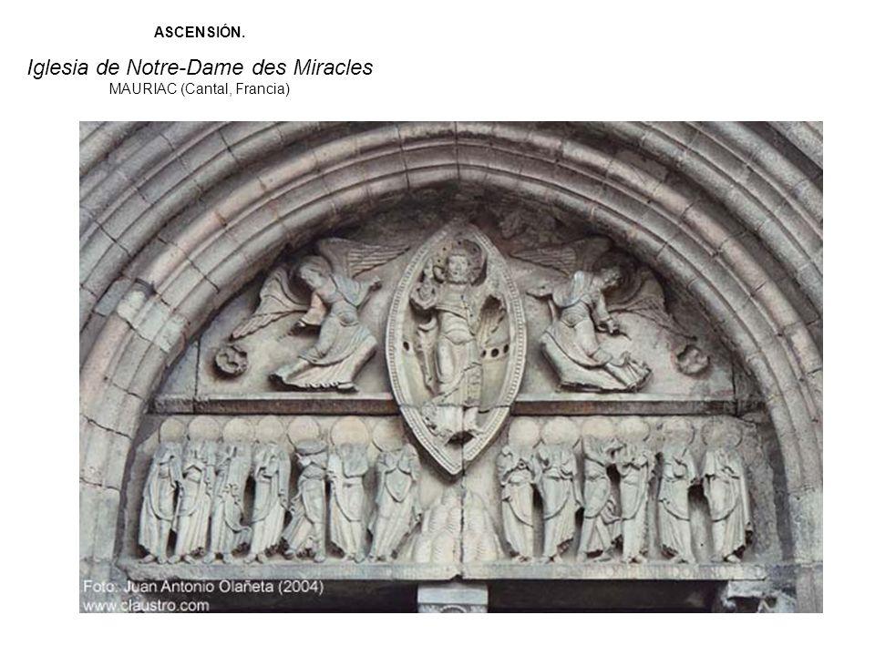 Iglesia de Notre-Dame des Miracles MAURIAC (Cantal, Francia)