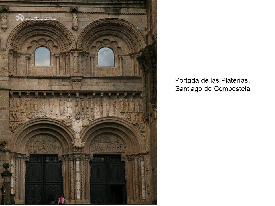 Portada de las Platerías. Santiago de Compostela