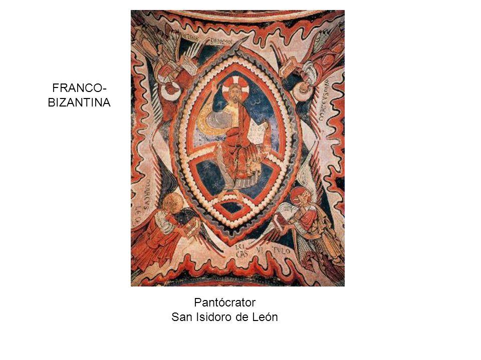 FRANCO-BIZANTINA Pantócrator San Isidoro de León