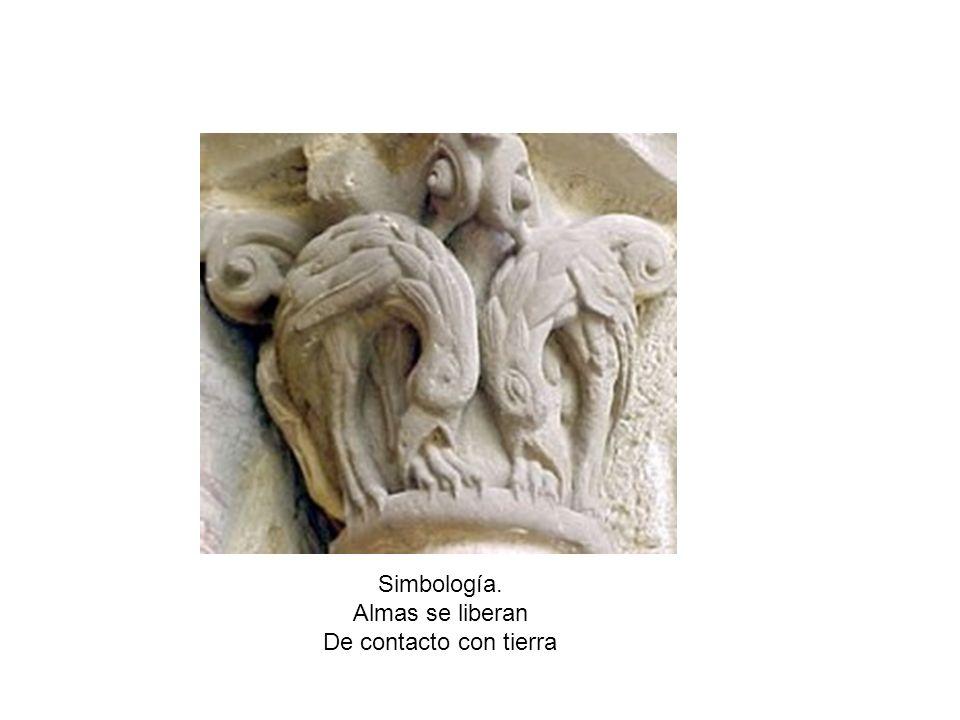 Simbología. Almas se liberan De contacto con tierra