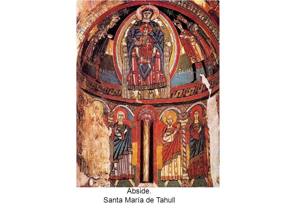 Ábside. Santa María de Tahull
