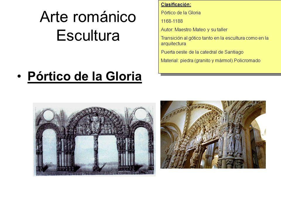 Arte románico Escultura