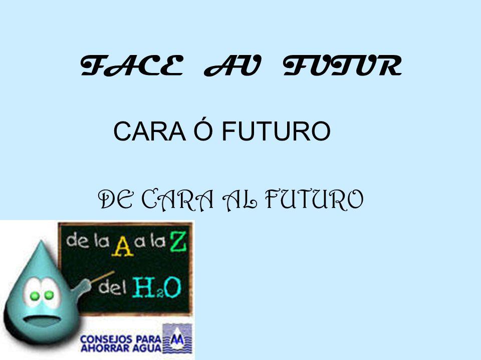 FACE AU FUTUR CARA Ó FUTURO DE CARA AL FUTURO