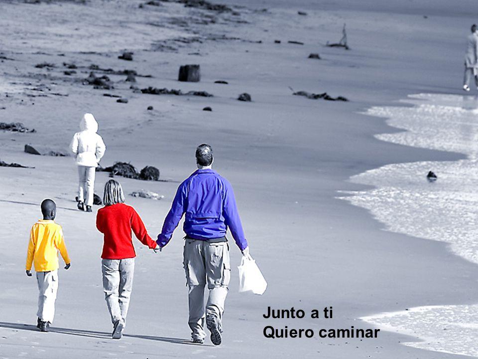 Junto a ti Quiero caminar