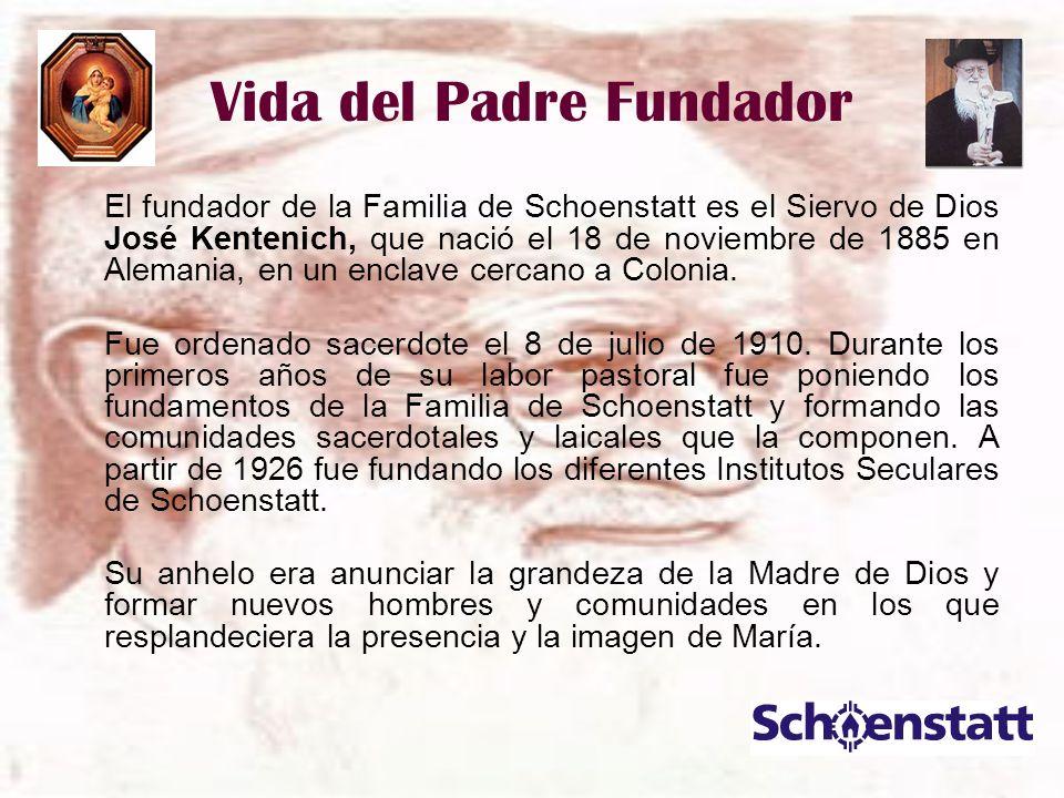 Vida del Padre Fundador