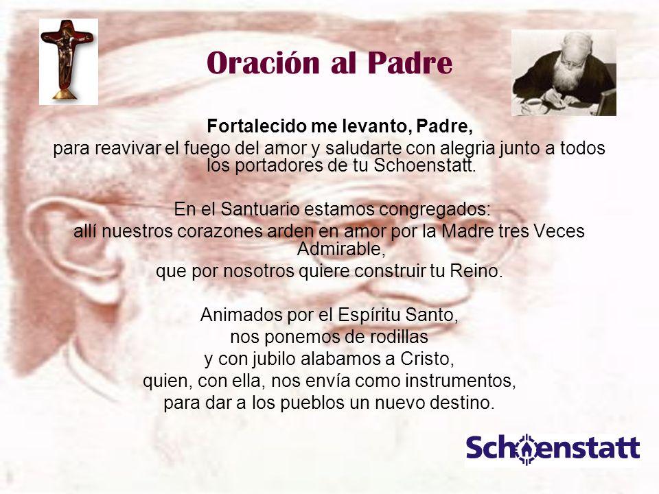 Oración al Padre Fortalecido me levanto, Padre,