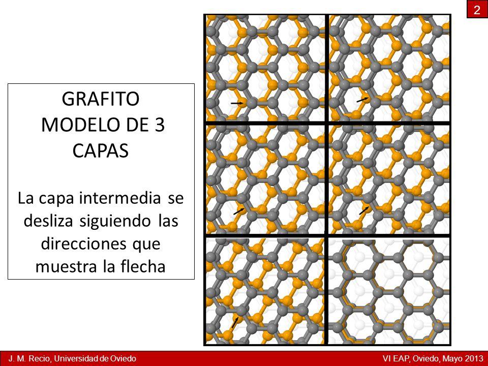 GRAFITO MODELO DE 3 CAPAS