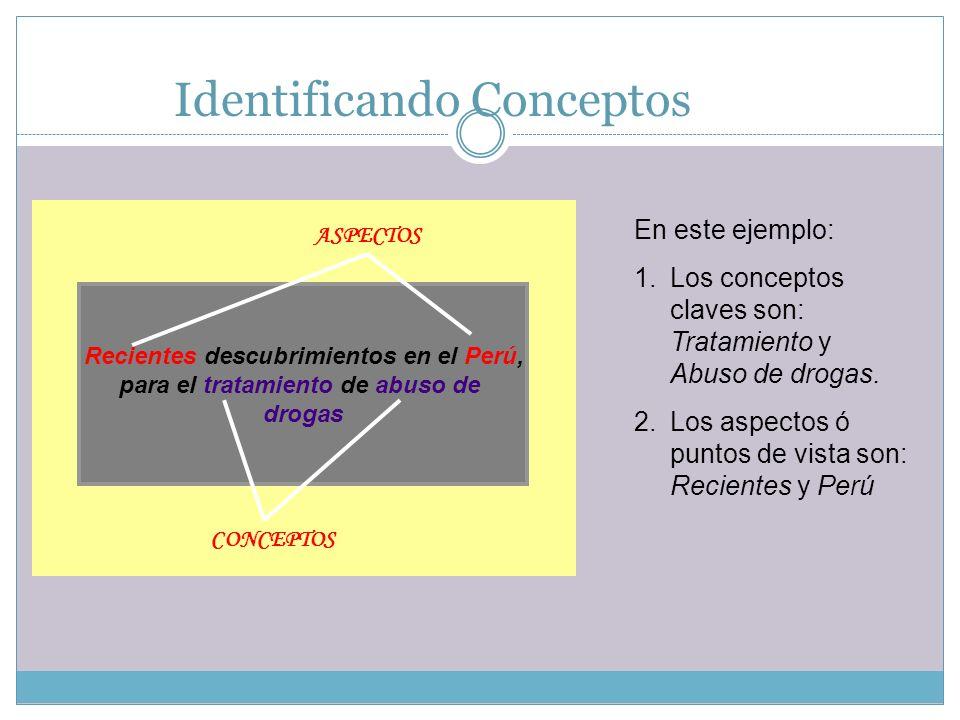 Identificando Conceptos