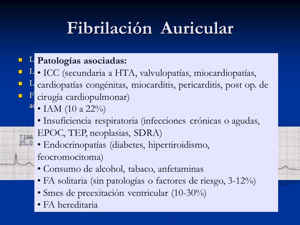 Fibrilación Auricular