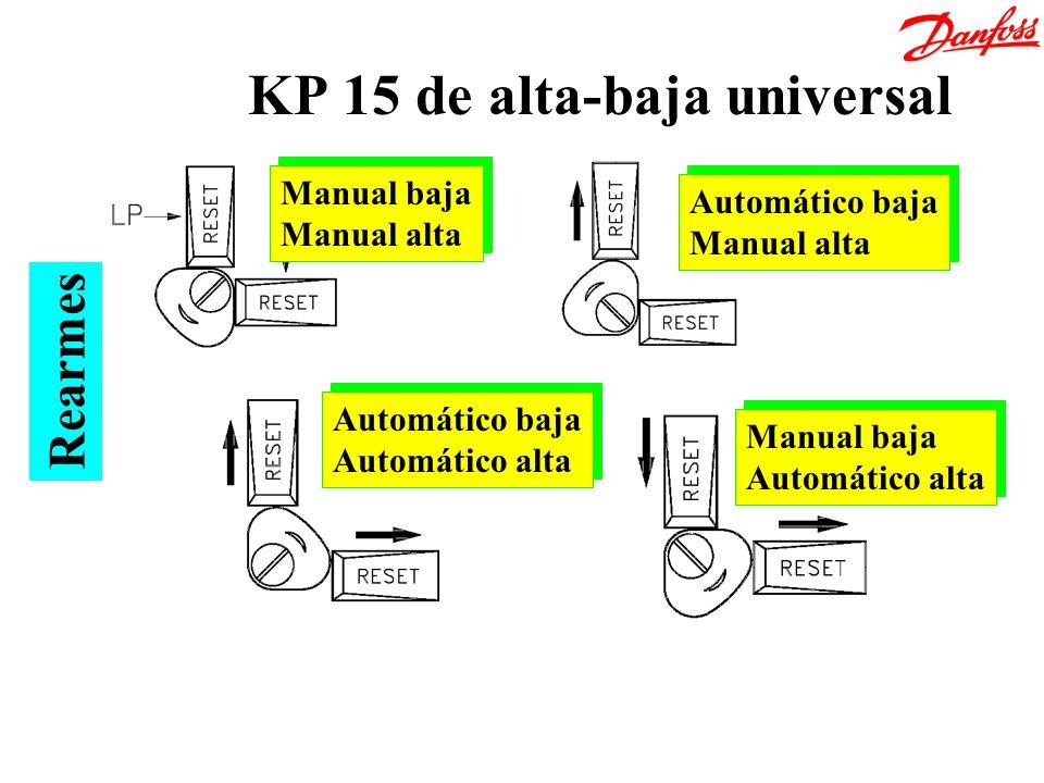 KP 15 de alta-baja universal