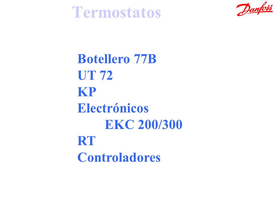 Termostatos Botellero 77B UT 72 KP Electrónicos EKC 200/300 RT