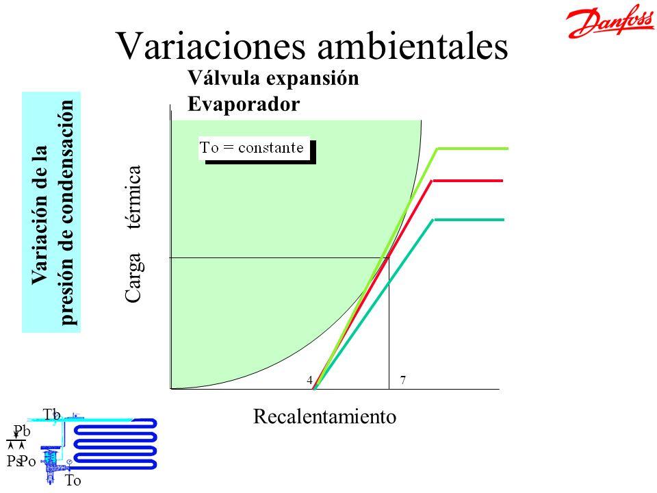Variaciones ambientales