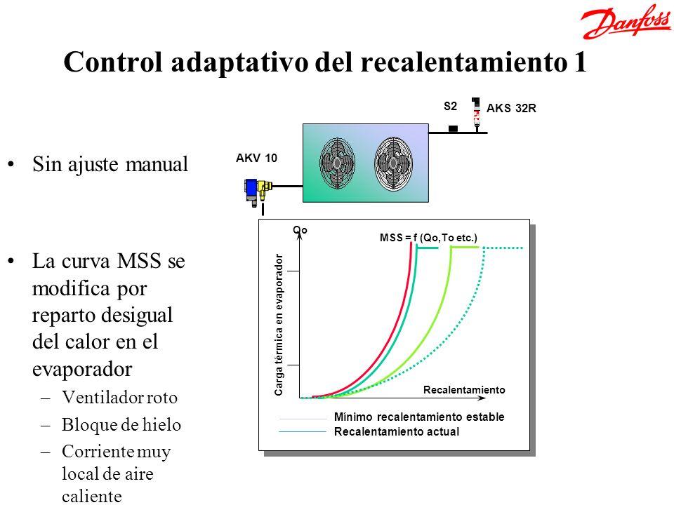 Control adaptativo del recalentamiento 1
