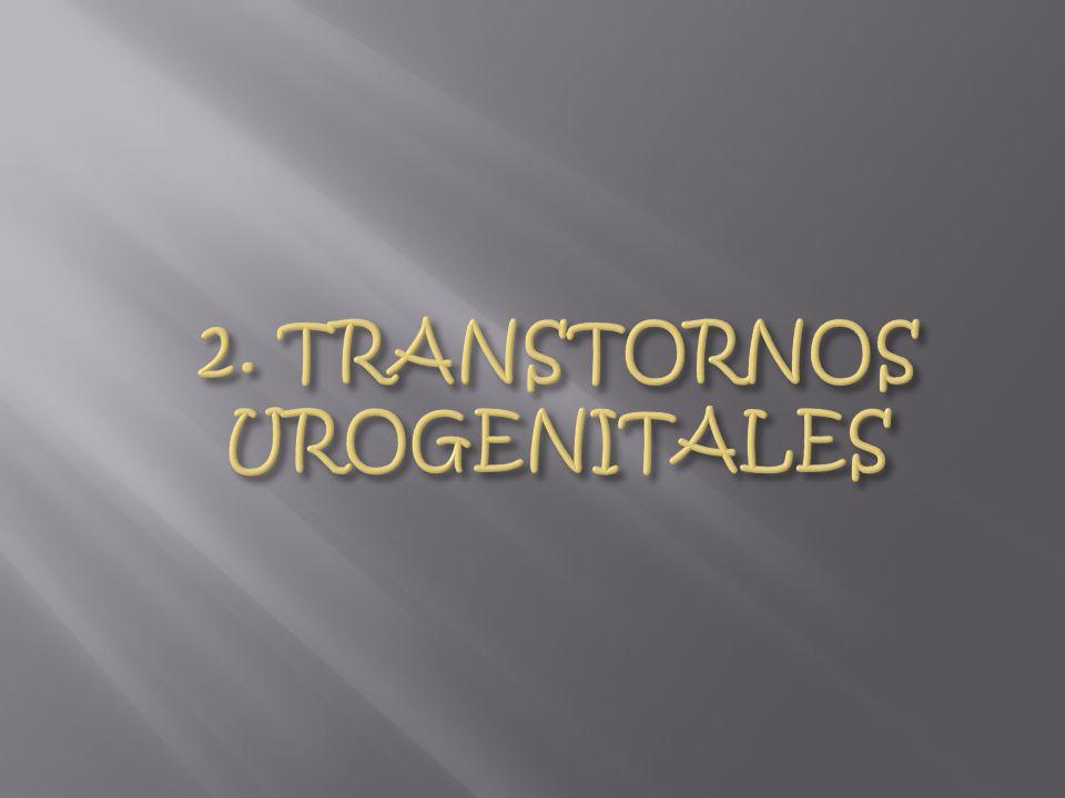 2. TRANSTORNOS UROGENITALES