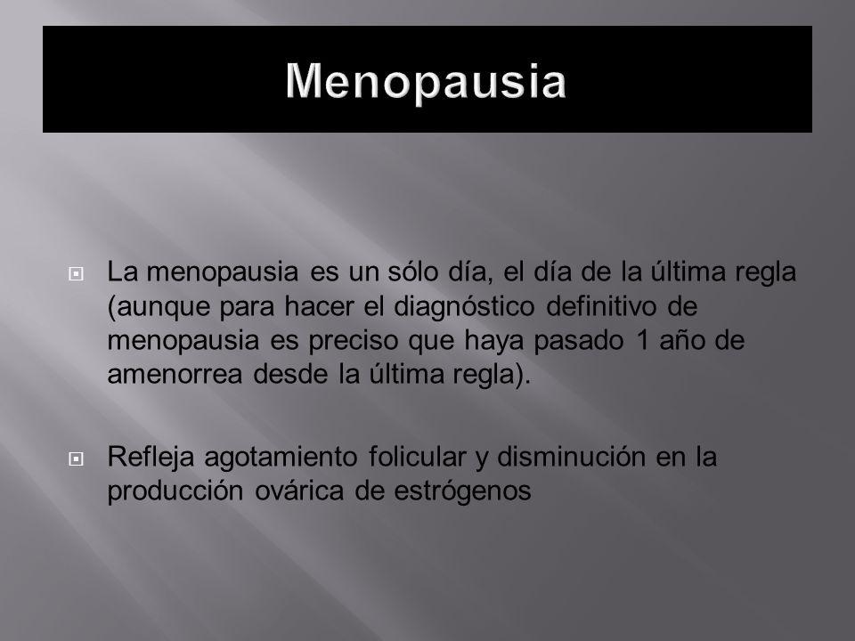 Menopausia…
