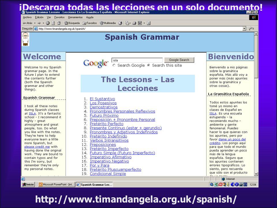 ¡Descarga todas las lecciones en un solo documento!