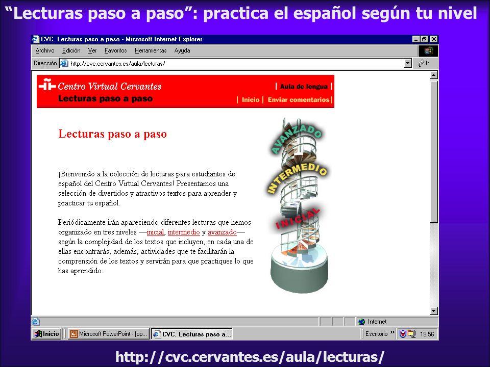 Lecturas paso a paso : practica el español según tu nivel