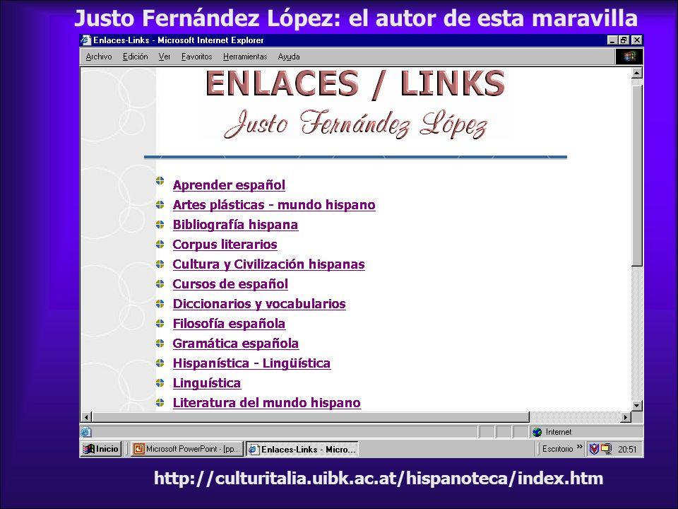 Justo Fernández López: el autor de esta maravilla