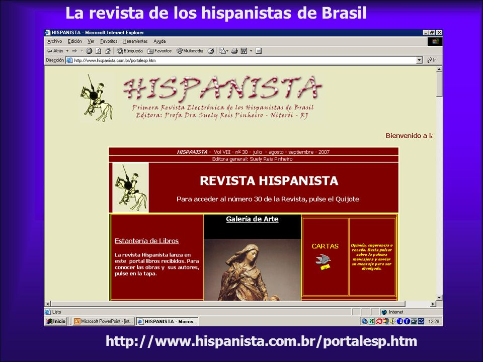 La revista de los hispanistas de Brasil