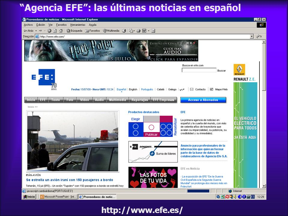 Agencia EFE : las últimas noticias en español