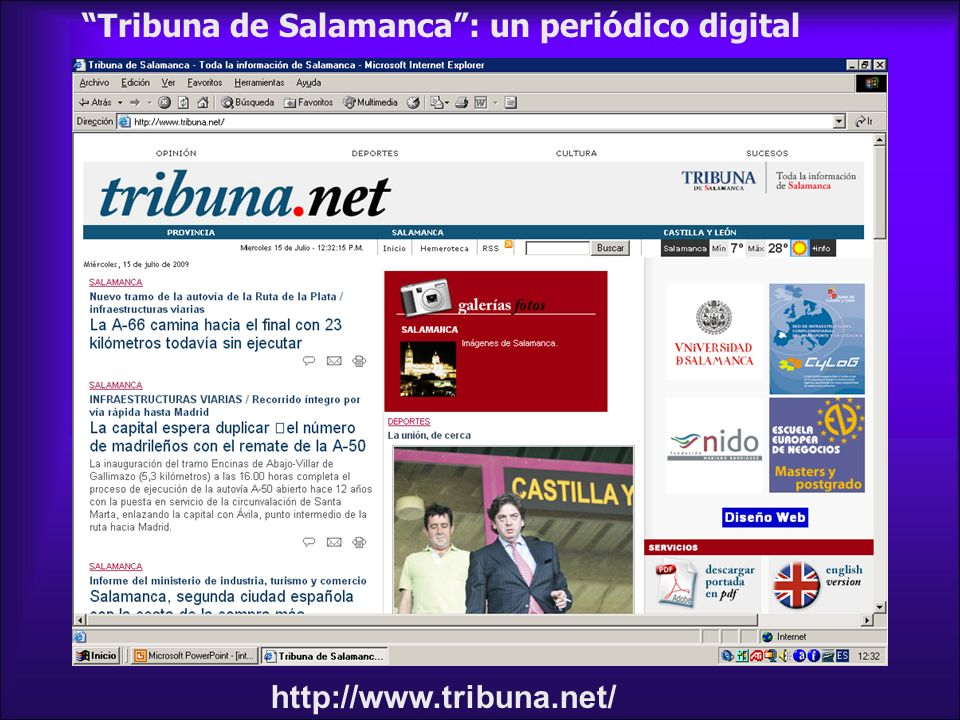 Tribuna de Salamanca : un periódico digital