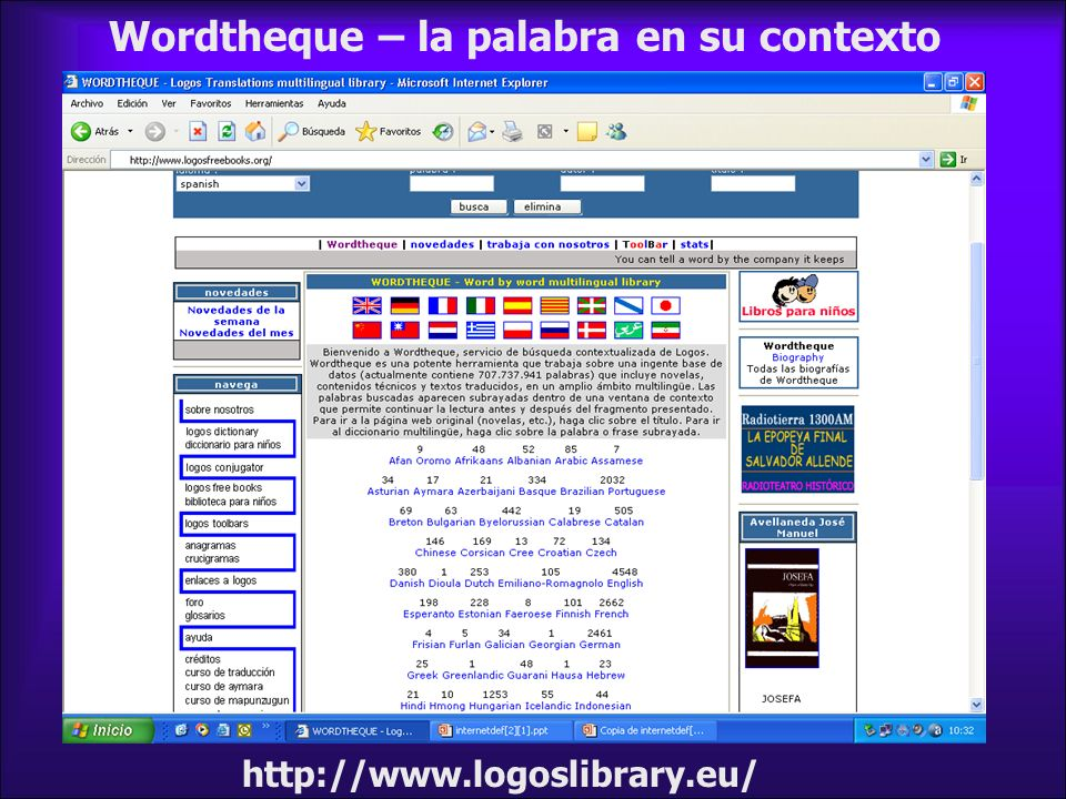 Wordtheque – la palabra en su contexto