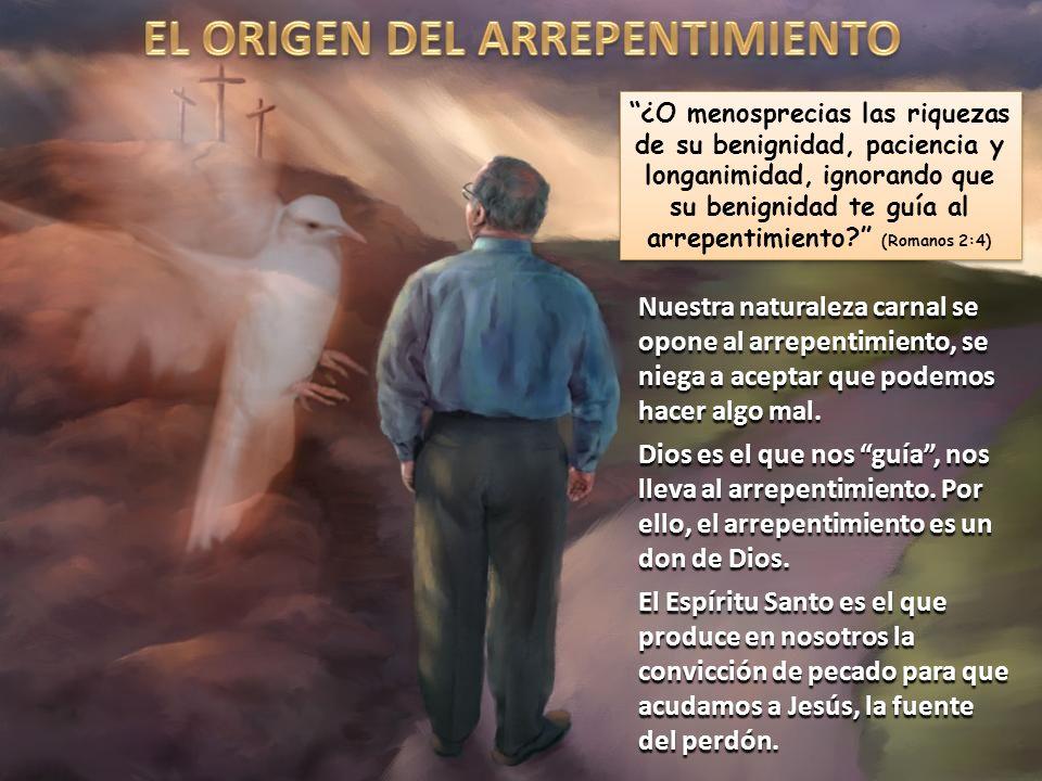 EL ORIGEN DEL ARREPENTIMIENTO