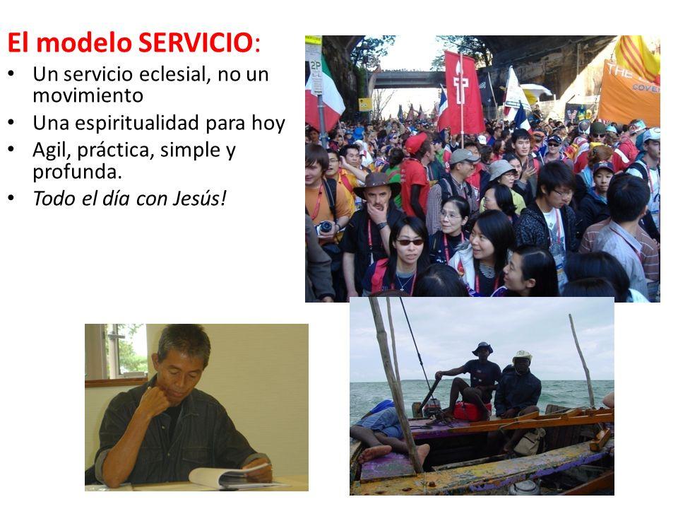 El modelo SERVICIO: Un servicio eclesial, no un movimiento