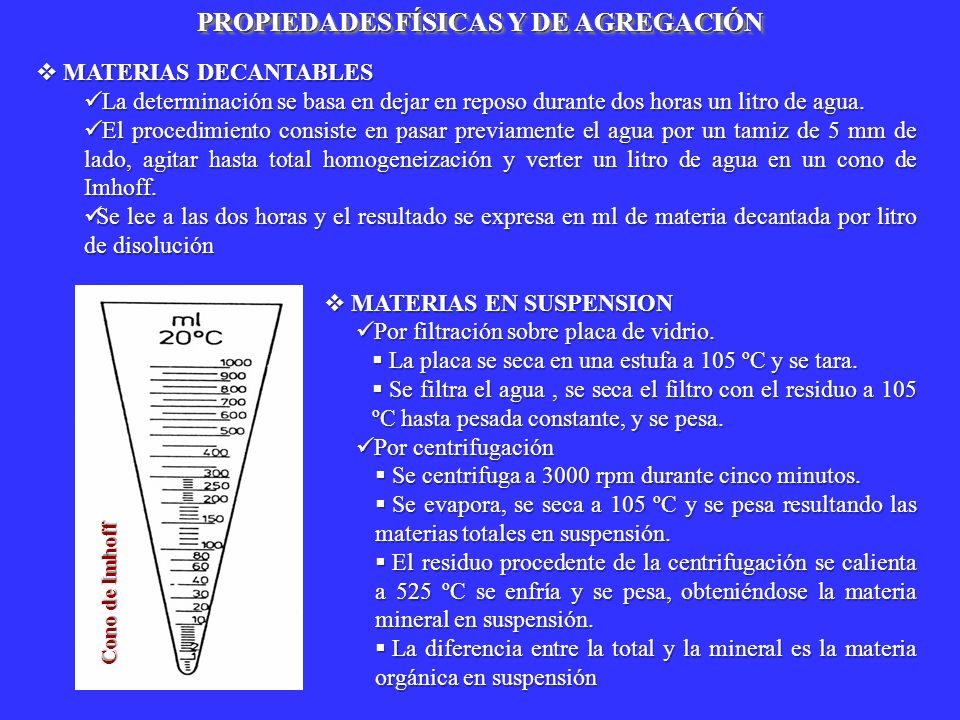 PROPIEDADES FÍSICAS Y DE AGREGACIÓN
