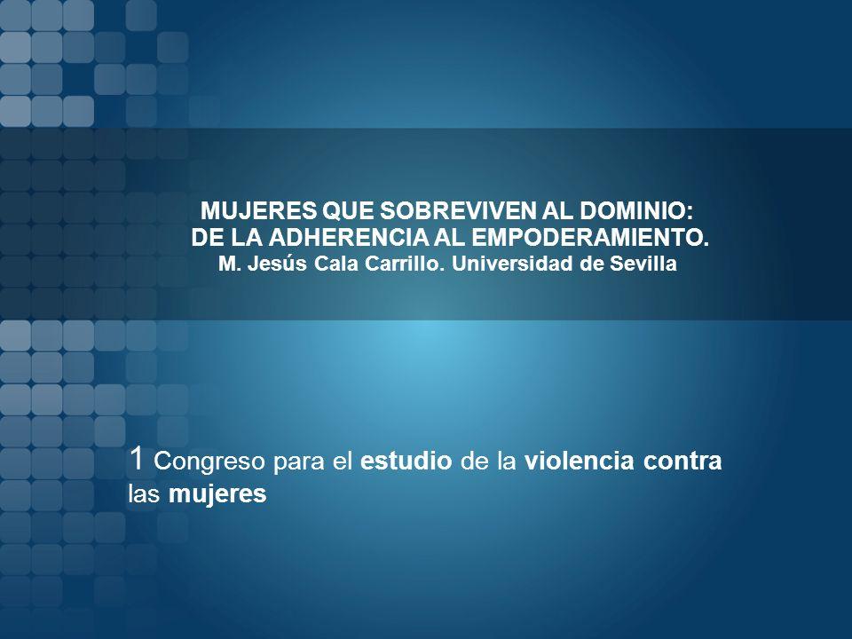 1 Congreso para el estudio de la violencia contra