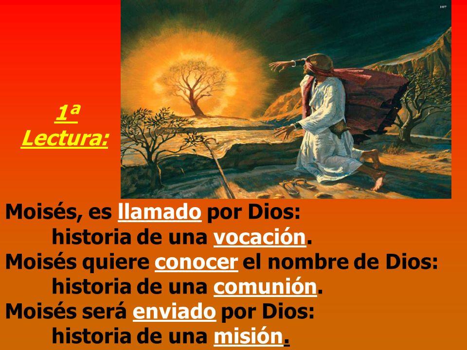 Moisés será enviado por Dios: historia de una misión.
