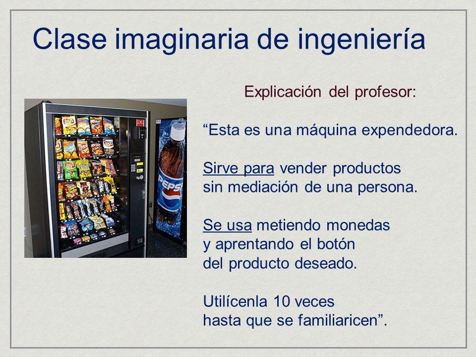 Clase imaginaria de ingeniería
