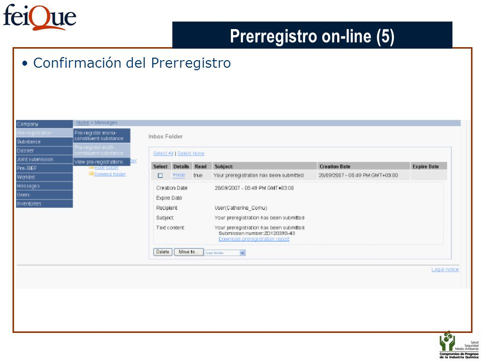 Prerregistro on-line (5)