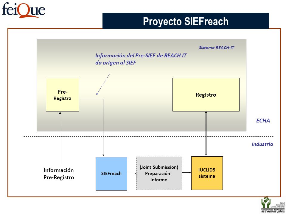 Proyecto SIEFreach ECHA