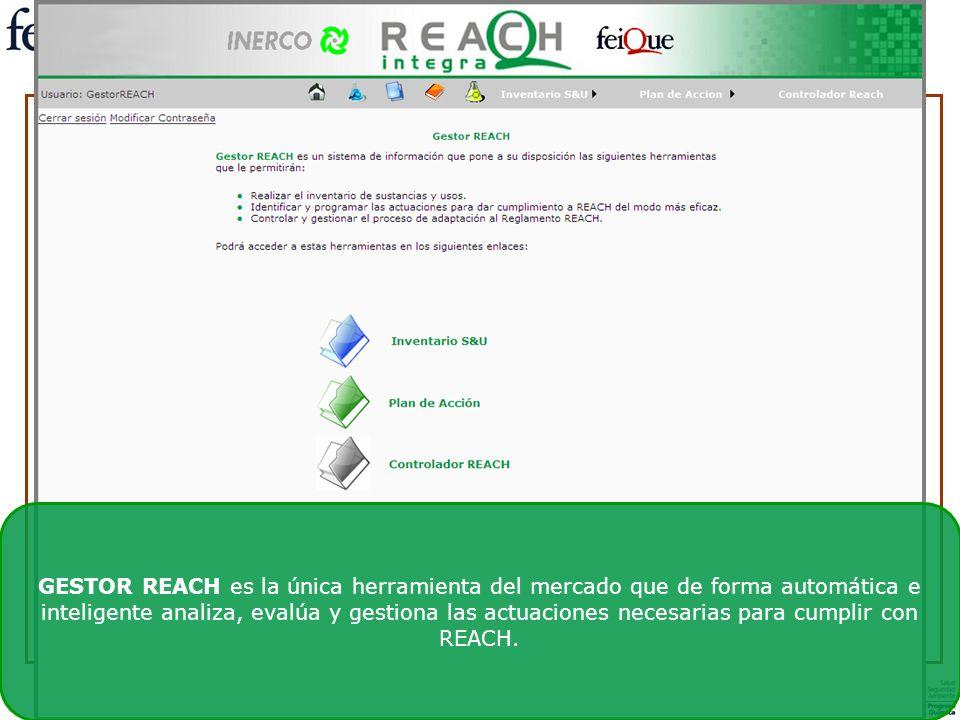 El Reglamento REACH y sus guías técnicas sufren continuas modificaciones dificultando el control y la gestión manual de la información