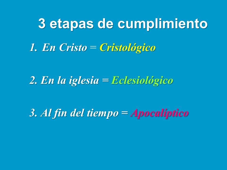 3 etapas de cumplimiento