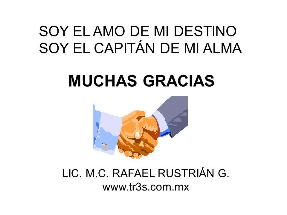 LIC. M.C. RAFAEL RUSTRIÁN G.