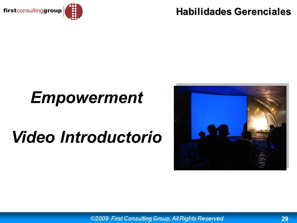 Empowerment Video Introductorio