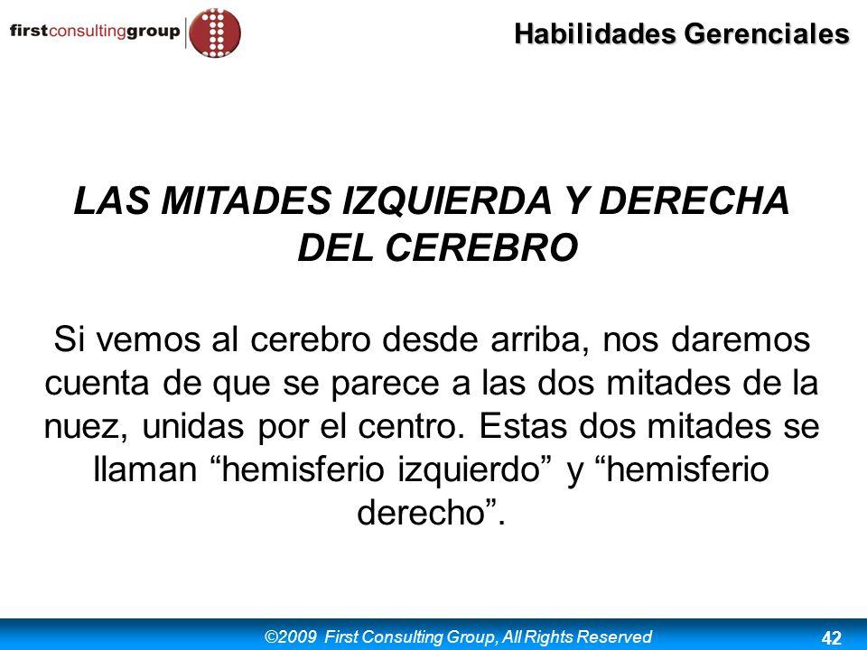 LAS MITADES IZQUIERDA Y DERECHA