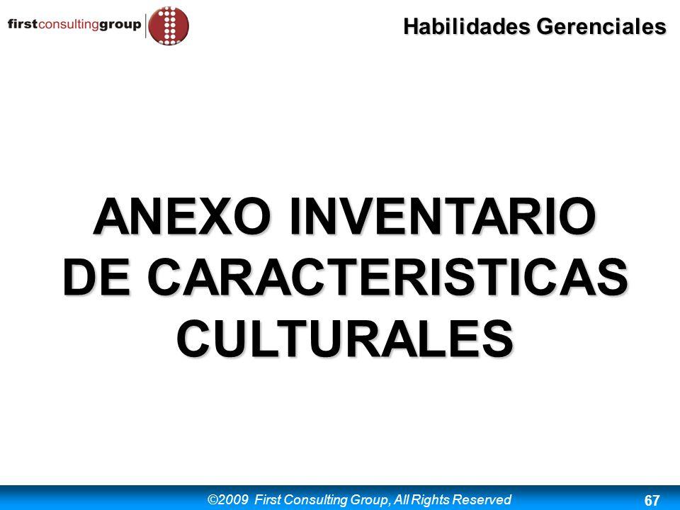 ANEXO INVENTARIO DE CARACTERISTICAS CULTURALES