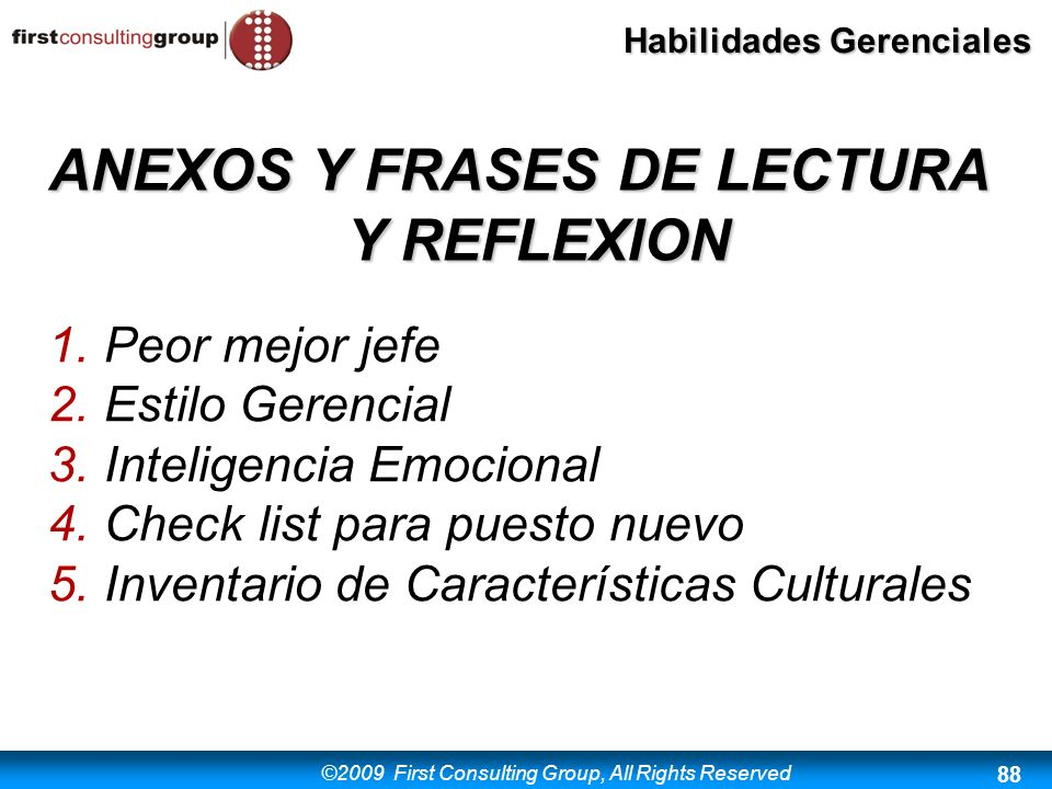 ANEXOS Y FRASES DE LECTURA Y REFLEXION