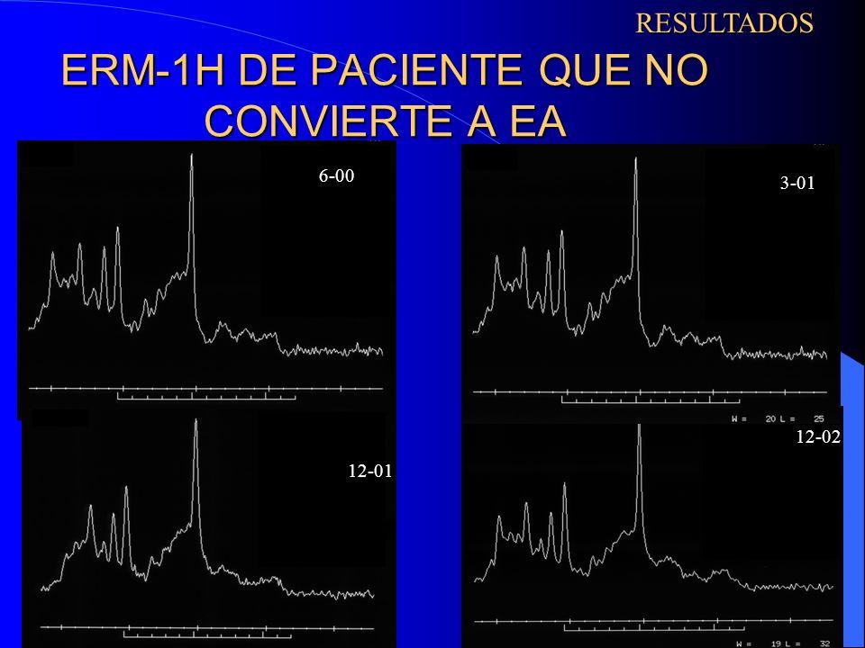 ERM-1H DE PACIENTE QUE NO CONVIERTE A EA