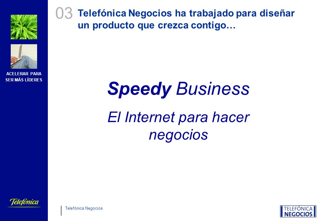 ¿Qué es Speedy Business