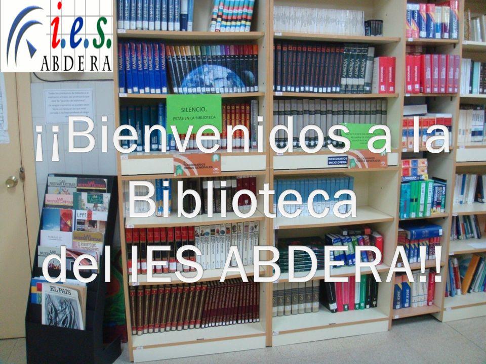 ¡¡Bienvenidos a la Biblioteca